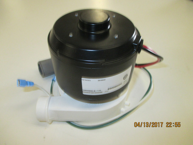 Dometic Masterflush motor & pump assy 12 Volts 880068 Also available in 24 volts # 880069