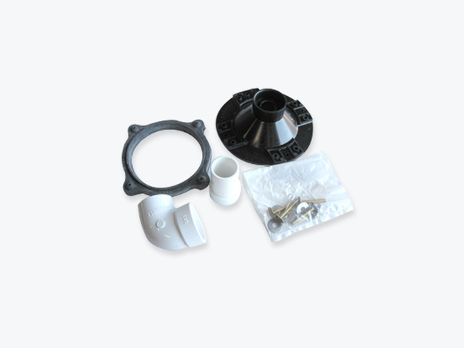 Sealand funnel kit for all 06 toilets. Comes complete with mounting hardware, plumbing and a new gasket