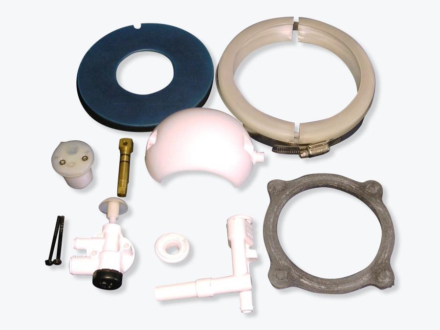 Repair kit for 506 +  toilet