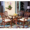 Cuba Dining Collection in Sienna finish