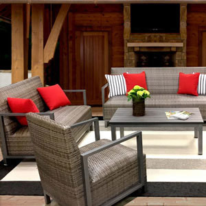 Pinnacle Outdoor Seating Collection