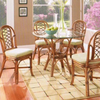 Grand Isle 5 PC Dining Set with Side Chairs
