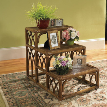 Grand Isle Three Tier Accessory Table