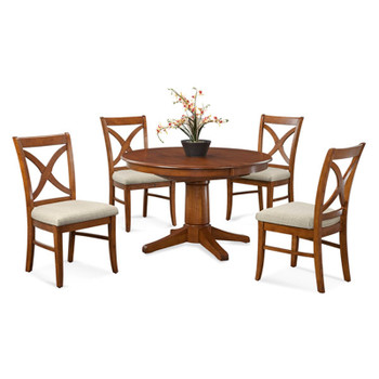 "Hues 5 pc 48"" Extension Dining Set"