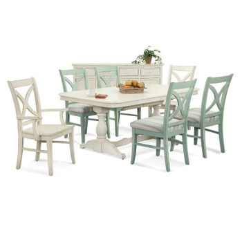 Hues 7 PC Rectangular Extension Dining Set
