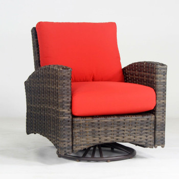 Panama Outdoor Swivel Glider