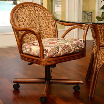 Panama Tilt Swivel Caster Chair