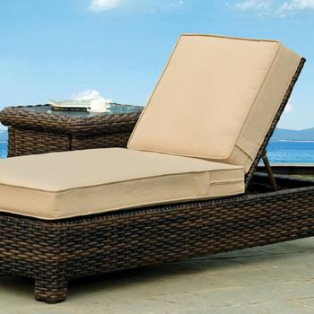Saint Tropez Outdoor Chaise Lounge