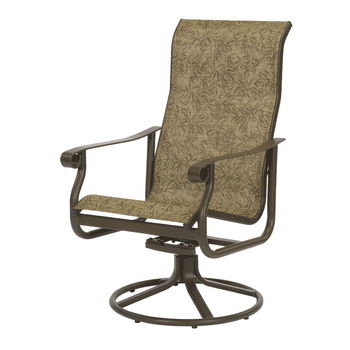 St. Croix High Back Swivel Rocker