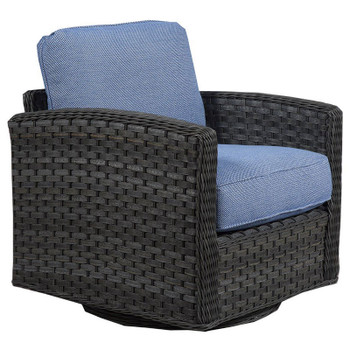 Lorca Outdoor Chair - Union Pacific Fabric