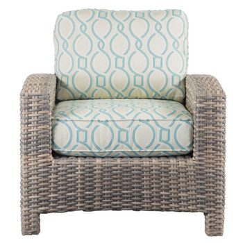 Mambo Outdoor Chair - Twist Resort Fabric - front