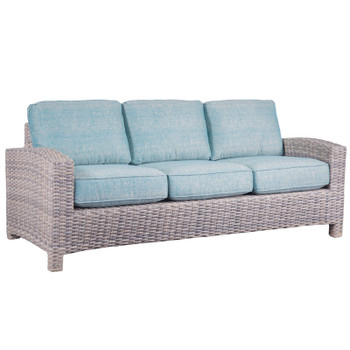 Mambo Outdoor Sofa - Chartres Turquois Fabric
