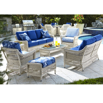 Paddock Outdoor 7pc Seating Set
