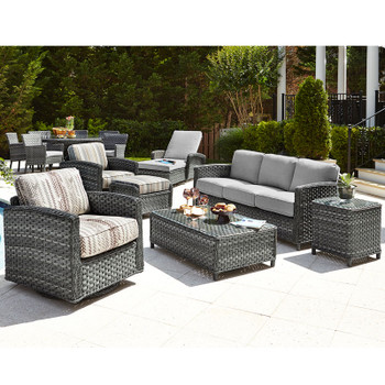 Lorca Outdoor 7pc Seating Set
