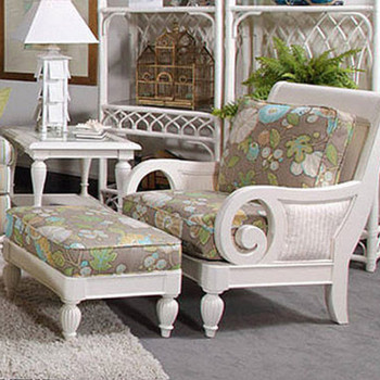 Grand View Chair and Ottoman Set