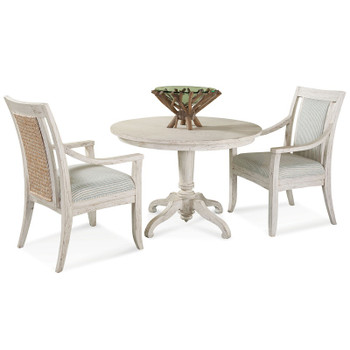 "Fairwind 3pc 42"" Dining Set with Arm Chairs"