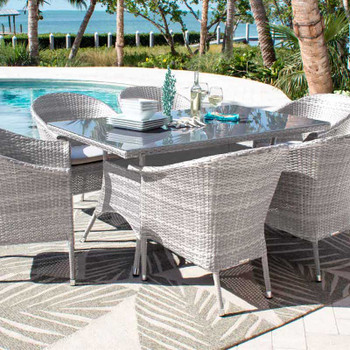 Santorini Outdoor Dining Collection