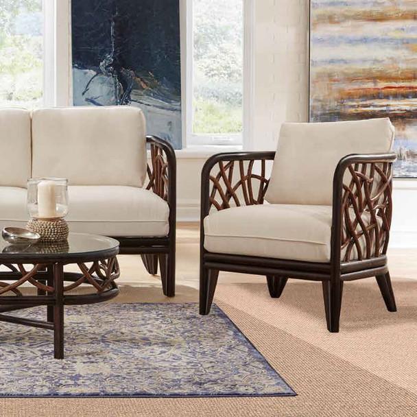 Trinidad Lounge Chair w/Indoor Beige Fabric