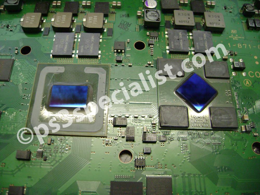 PlayStation3 GPU Reballing service
