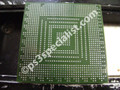 The graphics chip with no solder like new ready for reballing