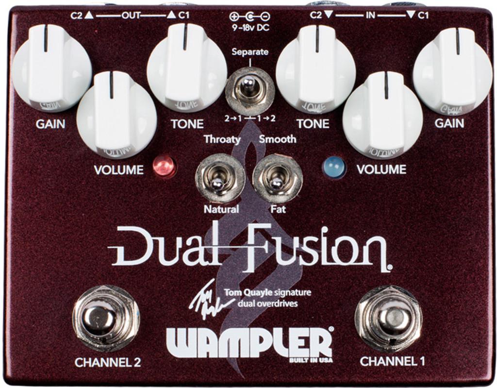 Wampler Tom Quayle Dual Fusion ~ Overdrive Pedal