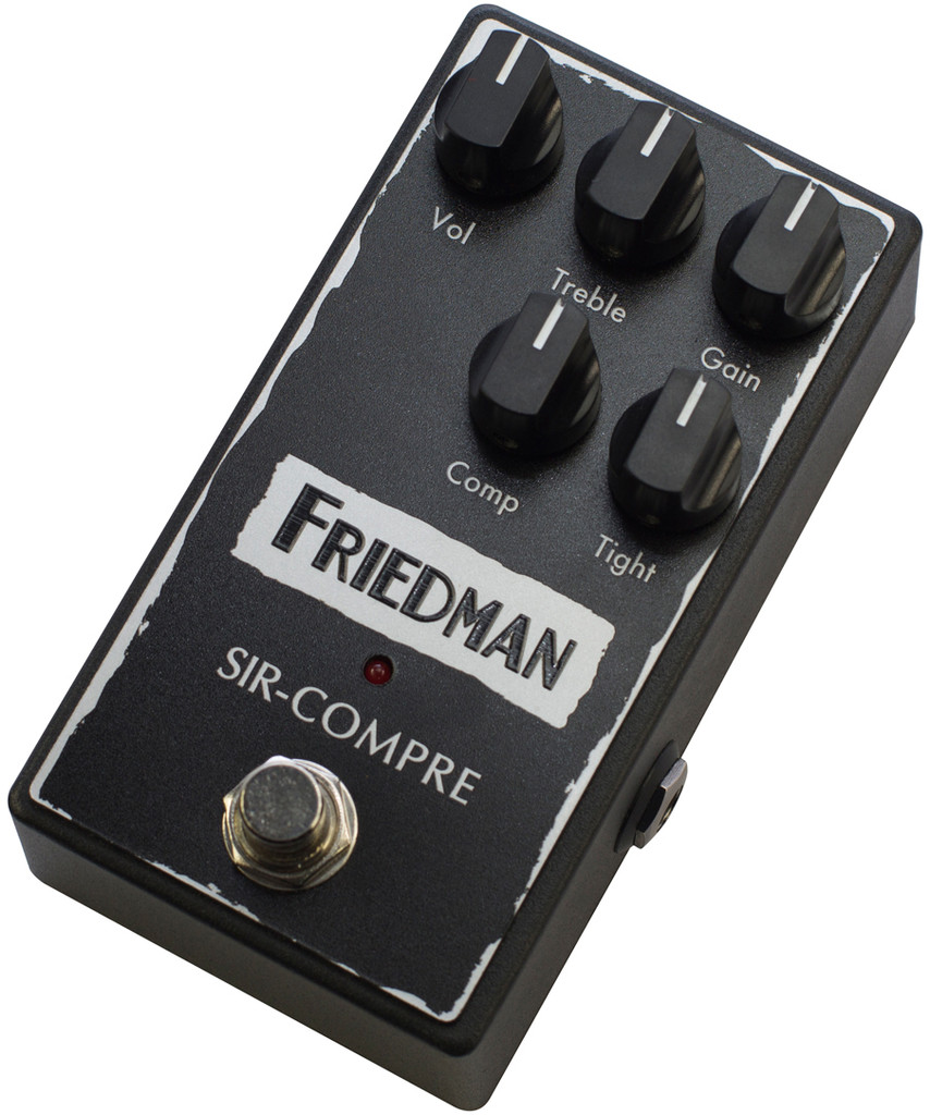 Friedman Amplification SIR-COMPRE ~ Compressor with Gain  Pedal