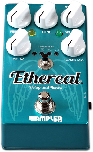 Wampler Ethereal ~ Reverb & Delay Pedal