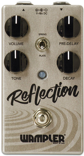 Wampler Reflection ~ Spring / Plate Style Reverb