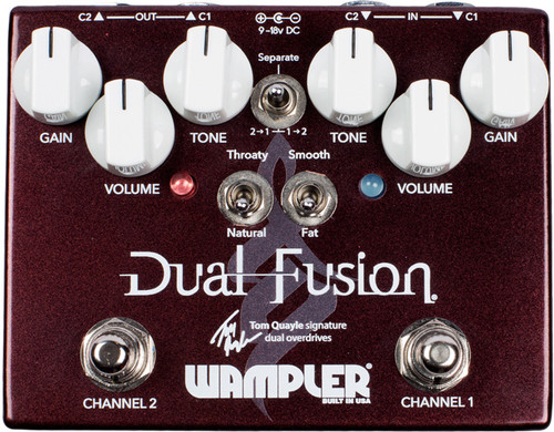 Wampler Tom Quayle Dual Fusion ~ Overdrive Pedal
