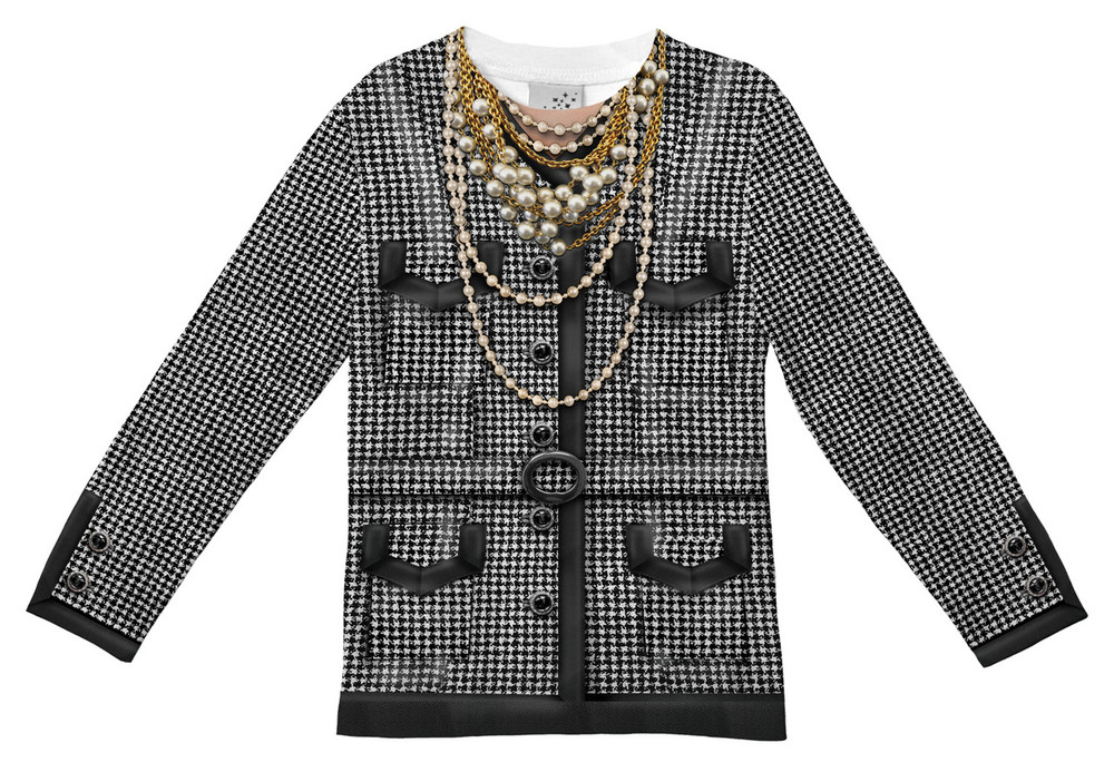 Faux Real Toddler Houndstooth Jacket - Front View
