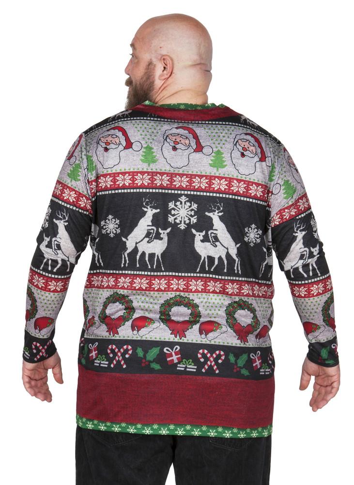 Big Size Frisky Deer Sweater