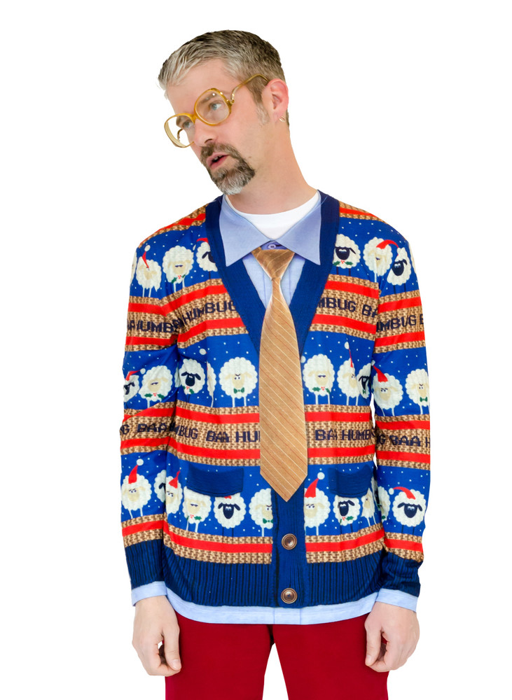 Baa Humbug Ugly Xmas Sweater