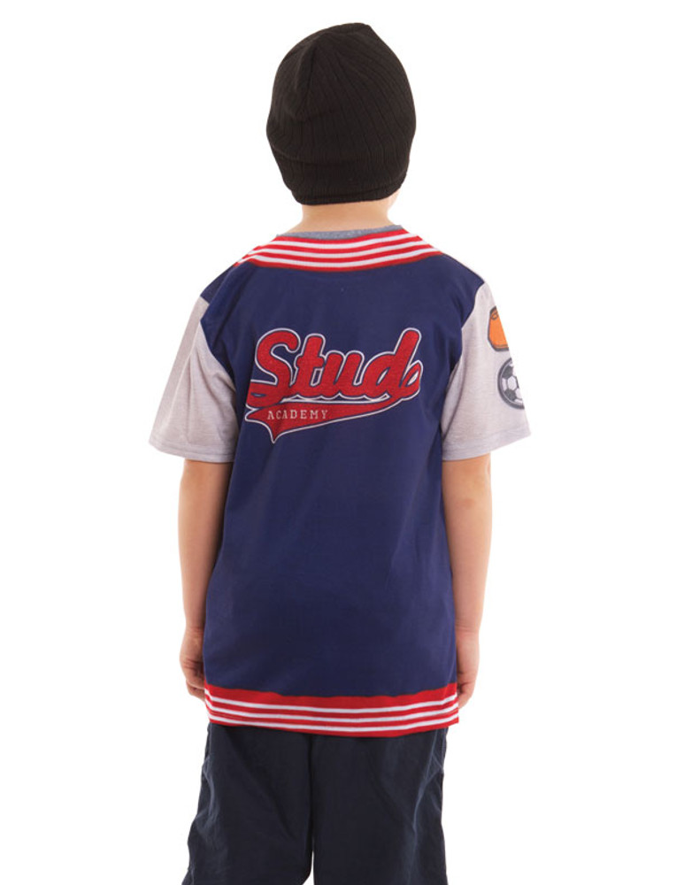 Youth Letterman Jacket Tee