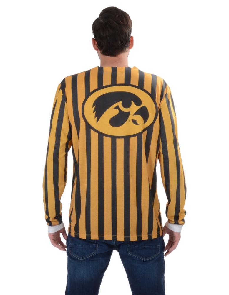 Iowa Hawkeyes Striped Suit Tee