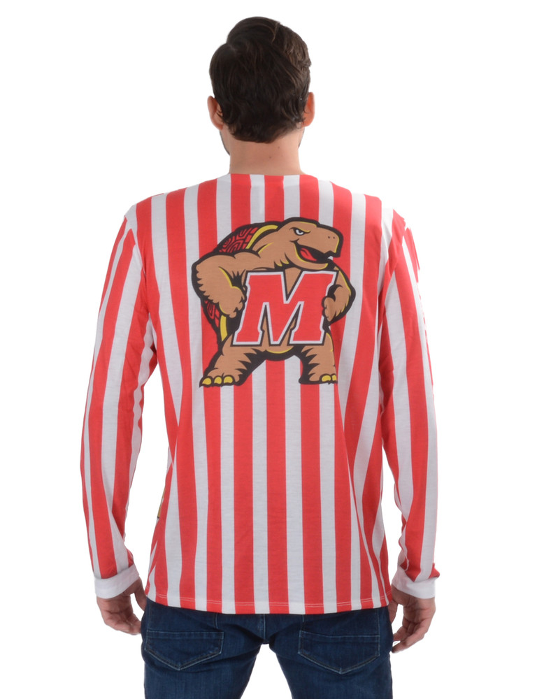 Maryland Terrapins Striped Suit Tee