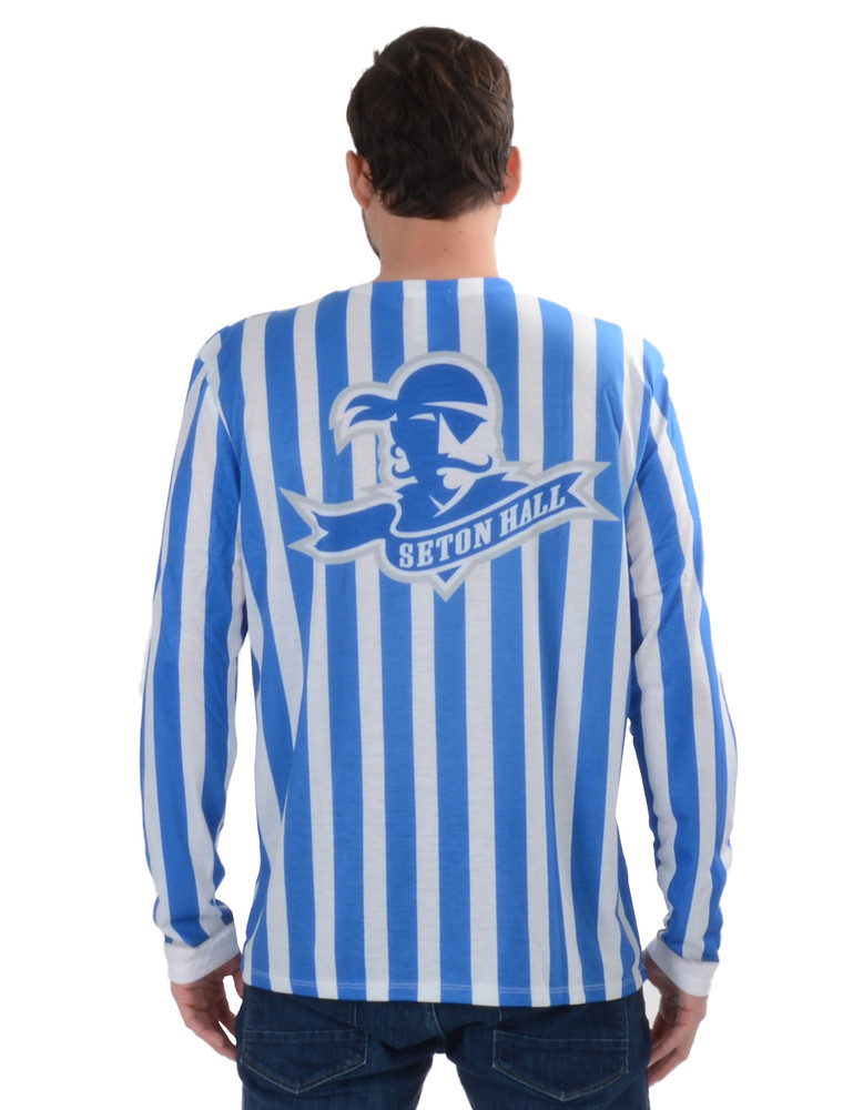 Seton Hall Pirates Striped Suit Tee