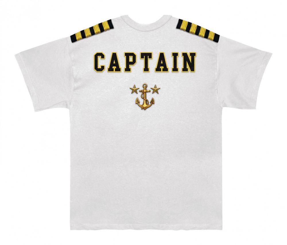 Captain Uniform Back View