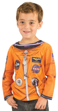 Faux Real Toddler Astronaut - Model Front View