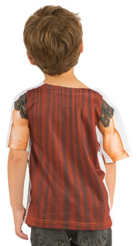 Faux Real Toddler Gladiator - Back View