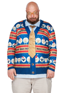 Big Size Baa Humbug Sweater