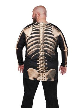 Big Size Skeleton T-Shirt