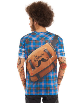 Hipster Plaid W/ Tattoos