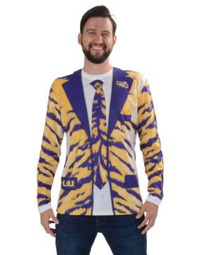 Louisiana State Univ Tiger Skin Suit Tee