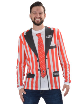 Oklahoma State Cowboys Striped Suit Tee