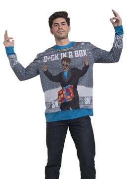 SNL Dick In A Box Xmas Sweater