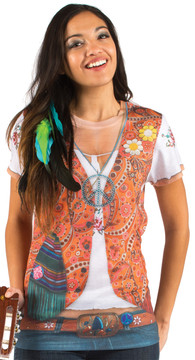 Faux Real Hippie - Front View