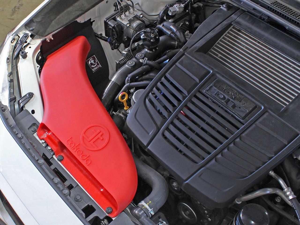 aFe POWER TA-4305B-D Takeda Stage-2 Pro DRY S Cold Air Intake System 15-17 Subaru WRX H4-2.0L (TA-4305B-D)