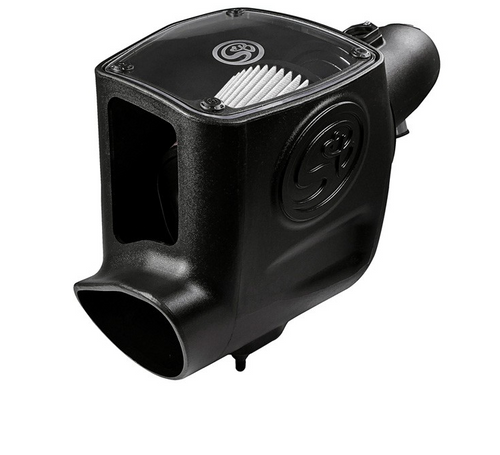 S&B 75-5105D Cold Air Intake for 2008-2010 Ford Powerstroke 6.4L (Dry Extendable Filter)