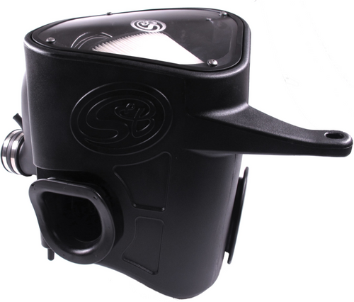 S&B 75-5068D Cold Air Intake for 2013-2018 Dodge Ram Cummins 6.7L (Dry Extendable Filter)