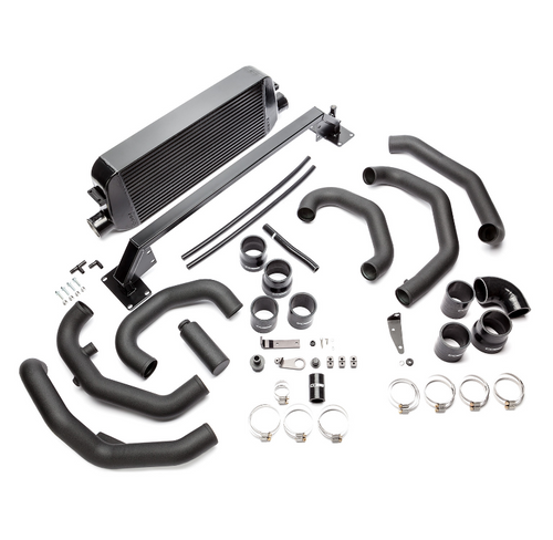 Cobb Front Mount Intercooler Kit (Black) 15-18 Subaru STI